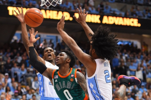 Canes Hoops: Miami drops OT thriller to UNC 88-85