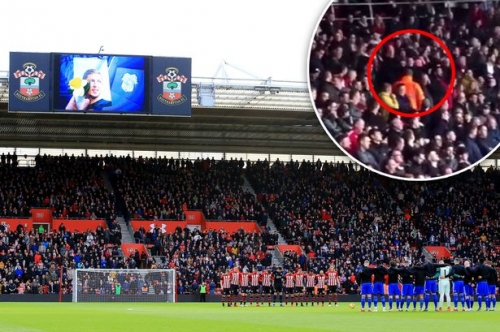 Southampton issue statement as two fans detained by police for apparently mocking Emiliano Sala death