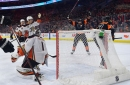 Hart makes history as Flyers extend point streak in win over Ducks