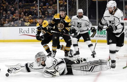 Kings fall in OT in Boston to snap 3-game winning streak