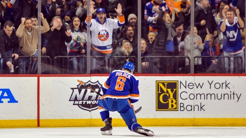 Pulock lifts Islanders to win over Avalanche in OT