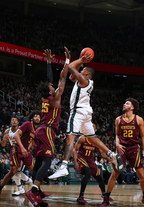 Nick Ward, Michigan State snap out of funk with blowout of Minnesota