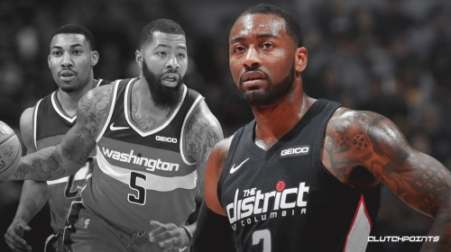 John Wall admits it's 'tough' to see Markieff Morris, Otto Porter Jr. leave Wizards