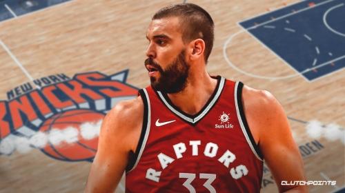 Marc Gasol will play for Raptors vs. Knicks on Saturday, won't start