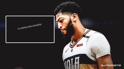 Pelicans' Anthony Davis posts message on Instagram story in very small letters
