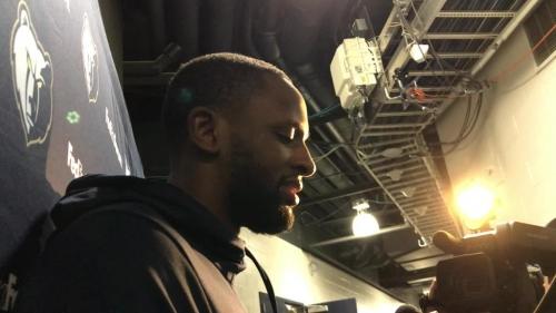 New Memphis Grizzlies player CJ Miles introduces himself