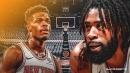 Video: Knicks' Dennis Smith Jr. throws off-the-backboard alley-oop to DeAndre Jordan
