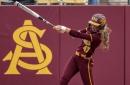 Gallery: Sun Devil softball scores 14 against the Jayhawks
