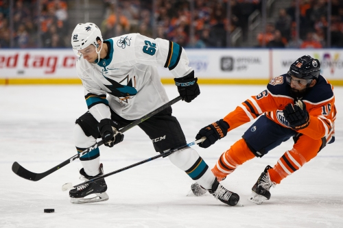 Takeaways: Sharks' Labanc is trying to 'prove a point' with trade deadline looming