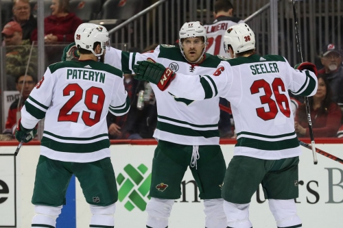 The third line carries the load to get the Wild back into the win column in New Jersey