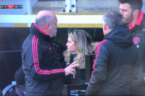 What Manchester United coaches talked about after Anthony Martial goal