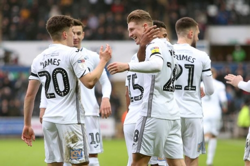 Graham Potter on Oli McBurnie, Daniel James, the Millwall win and Swansea City's clash with Leeds United