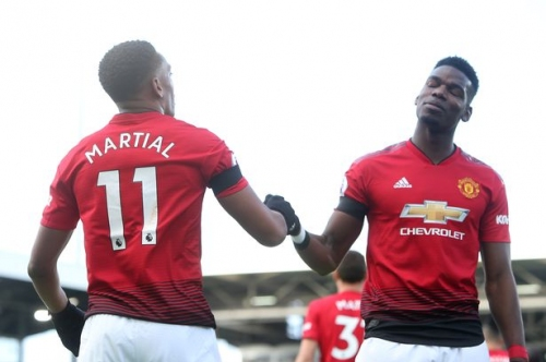 Manchester United have found a new attacking partnership