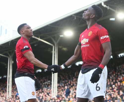 Paul Pogba breaks personal record with Manchester United goal against Fulham