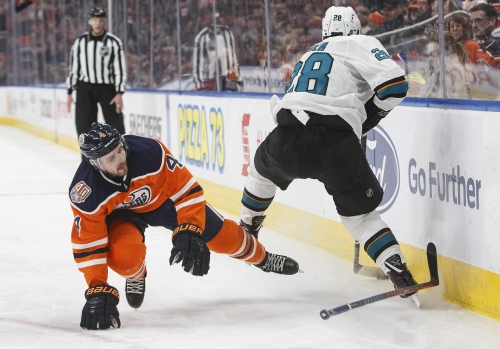 Sharks Beat Oilers – Labanc Gets 1st Hat Trick