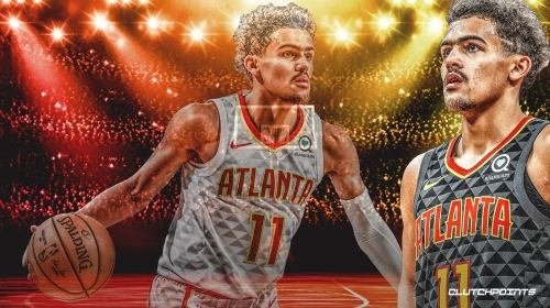 Trae Young breaks Hawks record for assists in a season by a rookie