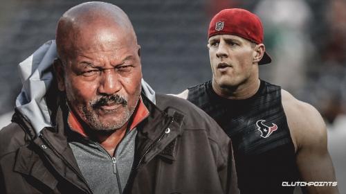 Jim Brown calls Texans' J.J. Watt 'one of a kind'