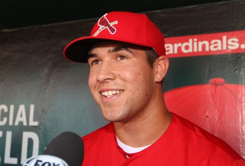 Carlson, Knizner headline handful of non-roster players at Cardinals' camp