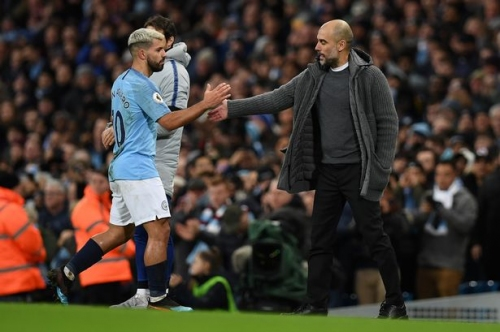 What Pep Guardiola said to Sergio Aguero and Man City players after Chelsea victory