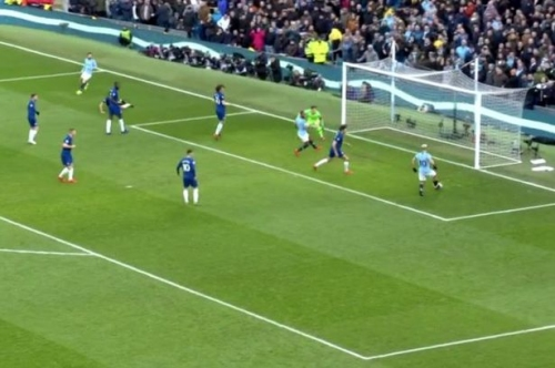 Raheem Sterling trolls Sergio Aguero after shocking miss for Man City vs Chelsea in Premier League