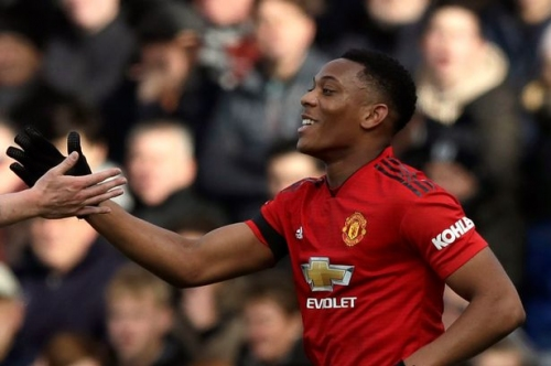 Manchester United coach Solskjaer agrees with Gary Neville about Anthony Martial