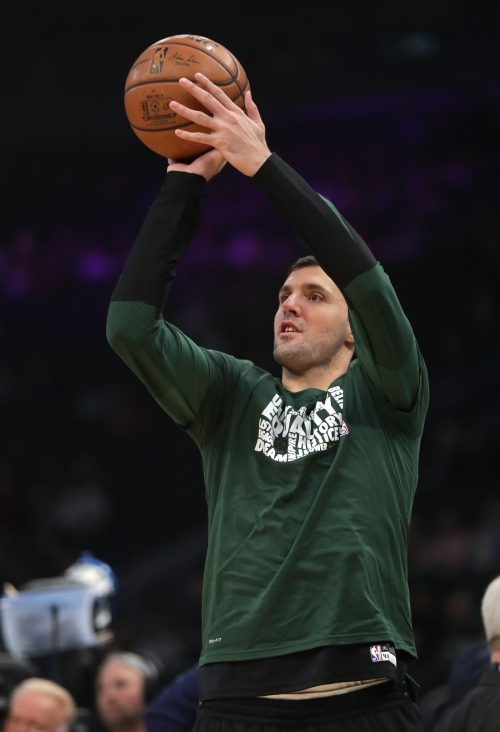 Nikola Mirotic sees great fit with Bucks, hopes to play as soon as Monday in Chicago