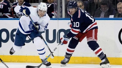 NHL Live Tracker: Maple Leafs vs. Rangers