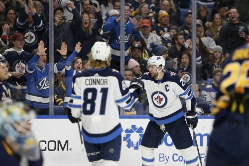Sabres drop a heartbreaker to the Jets on a late goal