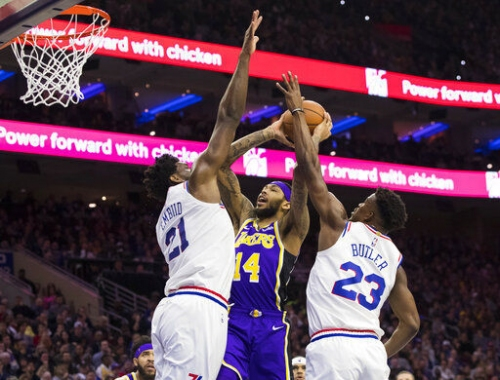 Embiid leads Sixers past Lebron-led Lakers, 143-120