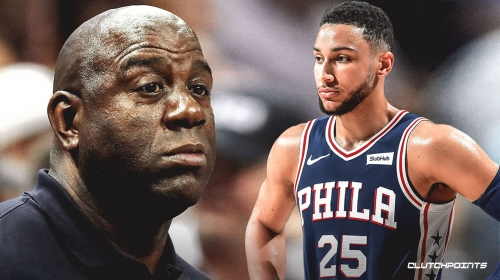 Sixers All-Star Ben Simmons confirms he'd like to work with Magic Johnson this summer