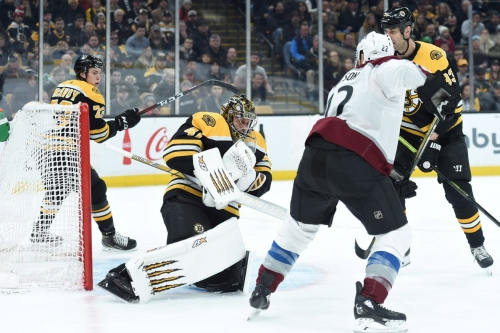 Colorado Avalanche lose 2-1 to Boston Bruins in yet another overtime loss