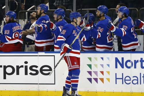 Maple Leafs fall to Rangers, 4-1