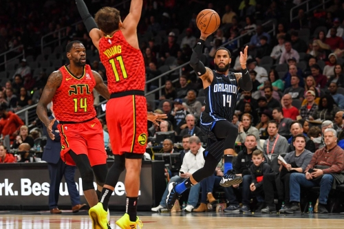Hawks torpedoed by Magic in third straight loss, 124-108