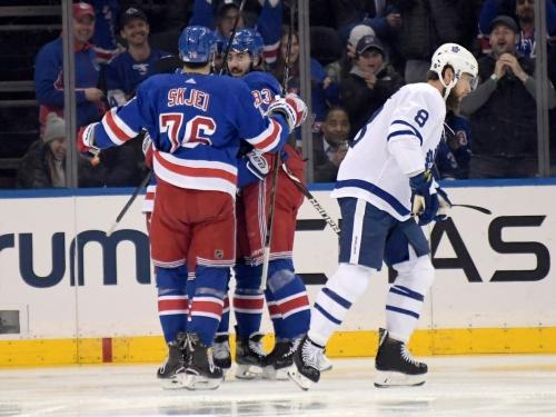 Leafs stonewalled by Rangers as win streak ends