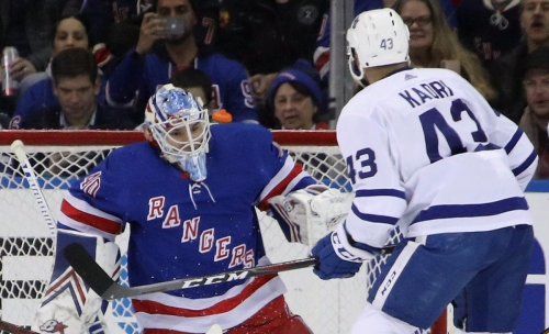 Rangers backup turns aside 55 shots, leaves Leafs shaking their heads in loss