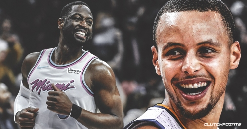 Warriors' Stephen Curry suggests Dwyane Wade doesn't look like in retirement shape