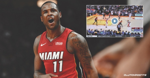 Video: Heat guard Dion Waiters throws hilarious errant pass to Warriors bench