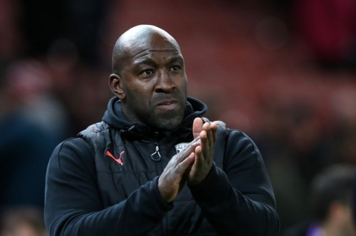 West Brom fans show this incredible level of support for Darren Moore
