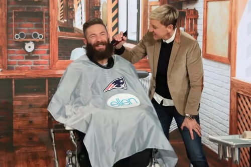 The best moments from the Patriots' post-Super Bowl media round