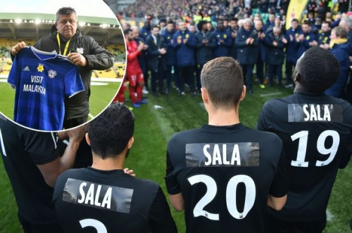 Cardiff City officials visit Nantes for joint Emiliano Sala tribute amid potential legal battle