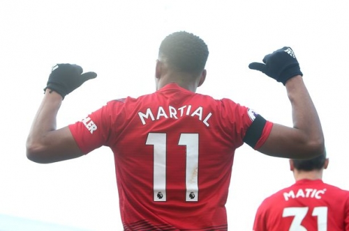 Anthony Martial is doing what two Manchester United managers wanted