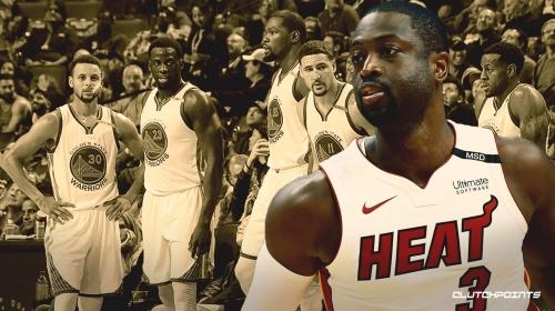 Heat's Dwyane Wade believes Warriors' starting 5 is 'as good as it gets' in NBA history