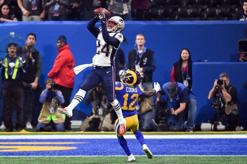Film room: Stephon Gilmore's interception was the whole Super Bowl in the making