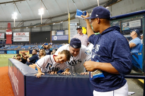View from the Catwalks: Rays Fan Fest a huge success