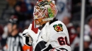 Blackhawks sign netminder Collin Delia to three-year extension
