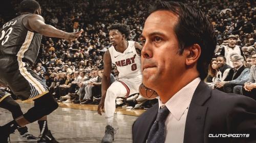 Heat coach Erik Spoelstra rips officiating after heartbreaking loss to Warriors