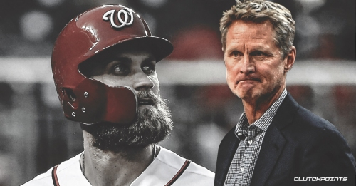 Steve Kerr takes his shot at convincing Bryce Harper to sign with the Giants