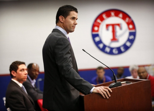 When will the Texas Rangers retire Michael Young's number?
