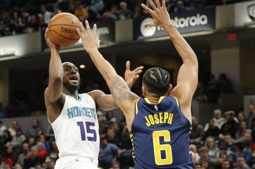 Hornets can get back to .500 with a win over the Pacers