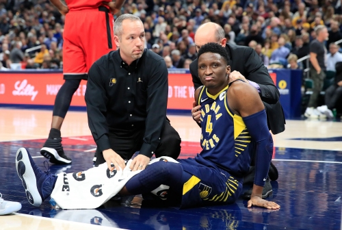 Pacers Victor Oladipo on injury rehab: 'I'm a positive butterfly'